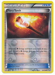 Fiery Torch - 89/106 - Uncommon - Reverse Holo