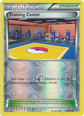 Training Center - 102/111 - Uncommon - Reverse Holo