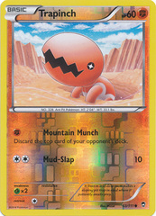 Trapinch - 53/111 - Common - Reverse Holo