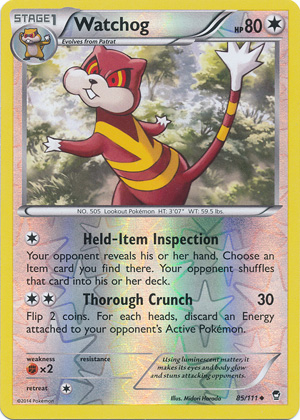Furious Fists 97//111 Mountain Ring Reverse Holo Pokemon Card