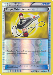 Target Whistle - 106/119 - Uncommon - Reverse Holo