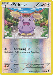 Whismur - 83/119 - Common - Reverse Holo