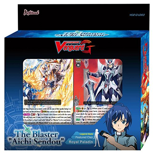 Cardfight!! Vanguard VGE-G-LD03 The Blaster Aichi Sendou Legend Deck