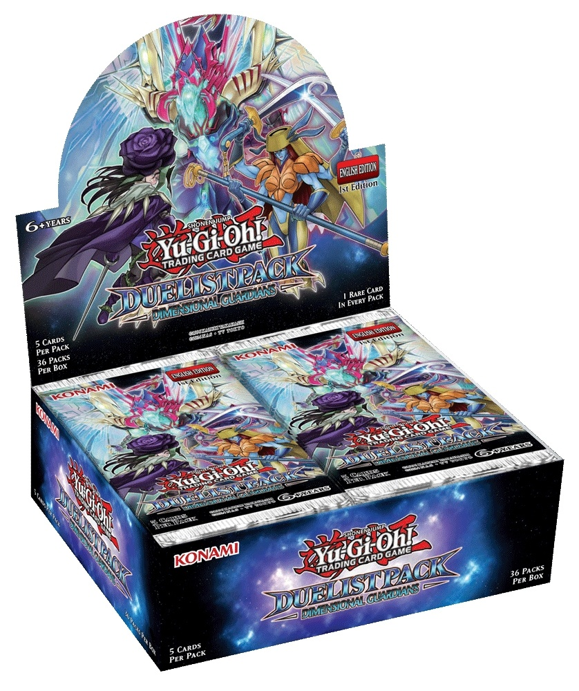 Yu-Gi-Oh Duelist Pack: Dimensional Guardians Booster Box