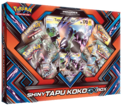 Pokemon Shiny Tapu Koko GX Collection Box