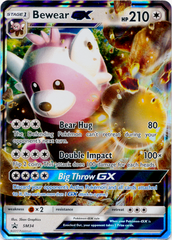 Bewear GX SM34 Wave Holo Promo - Bewear GX Collection Exclusive