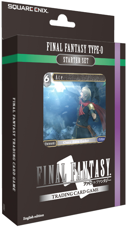 Final Fantasy TCG Wind and Lightning Type-0 Starter Deck Set