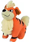 Pokemon Tomy Growlithe Plush 8