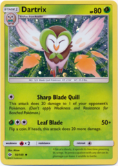 Dartrix 10/149 Cosmos Holo Promo - Decidueye GX Premium Collection