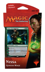 Hour of Devastation Planeswalker Deck - Nissa, Genesis Mage