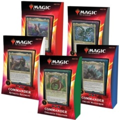 MTG Commander 2020: Ikoria Commander Decks - SET of 5