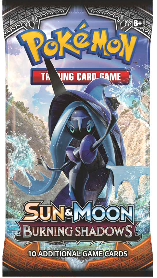 Pokemon Sun & Moon SM3 Burning Shadows Booster Pack
