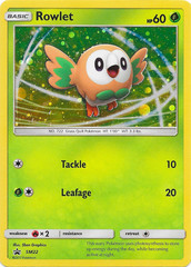 Rowlet SM22 Cosmos Holo Promo - Sun & Moon Collector's Chest