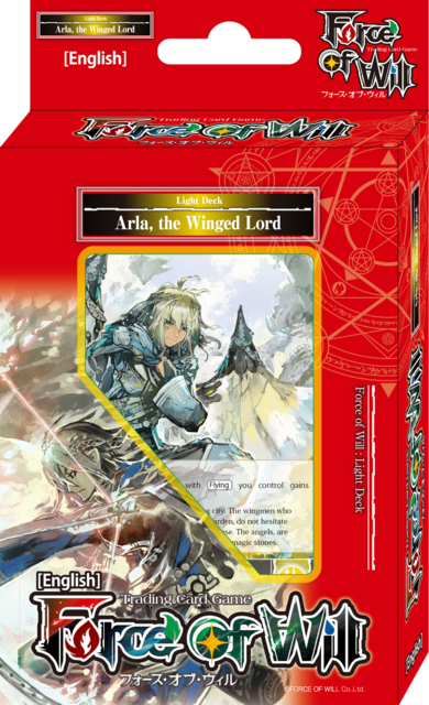 Light Deck Force of Will Fairy Tale Force Lapis Cluster Starter Deck Force of Will Ltd.