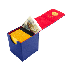 Dex Protection Creation Line Small Deckbox - Dark Blue
