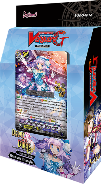 Cardfight Vanguard Vge G Td14 Debut Of The Divas Trial Deck Cardfight Vanguard Cfv Trial Decks Collector S Cache
