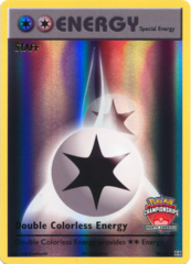 Double Colorless Energy 90/108 STAFF Holo Promo - 2017 North America Championships