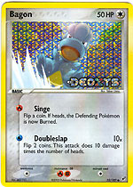 Bagon - 52/107 - Common - Reverse Holo