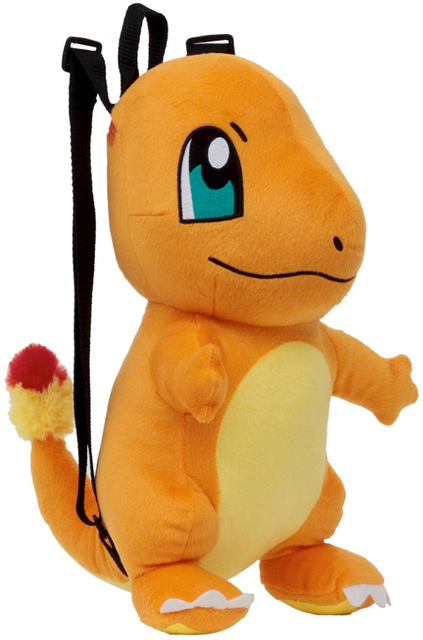 Pokemon Charmander 14 Plush Backpack