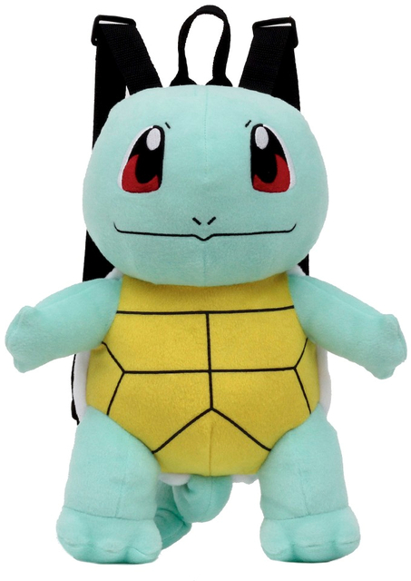 Pokemon Tomy Squirtle 13 Plush Backpack