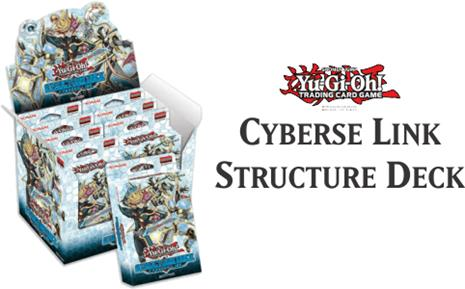 Yu-Gi-Oh Structure Deck: Cyberse Link Display Box 8ct