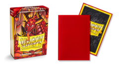 Dragon Shield Matte Japanese Mini-Size Sleeves - Crimson - 60ct