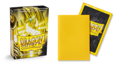Dragon Shield Matte Japanese Mini-Size Sleeves - Yellow - 60ct