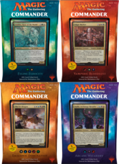 MTG Commander 2017 Decks: Set of 4