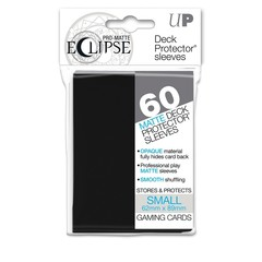 Ultra Pro Small Size PRO-Matte Eclipse Sleeves - Jet Black - 60ct