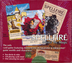 Spellfire: Master the Magic First Edition Starter Deck Display Box