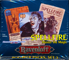 Spellfire Set 2: Ravenloft  First Edition Booster Box