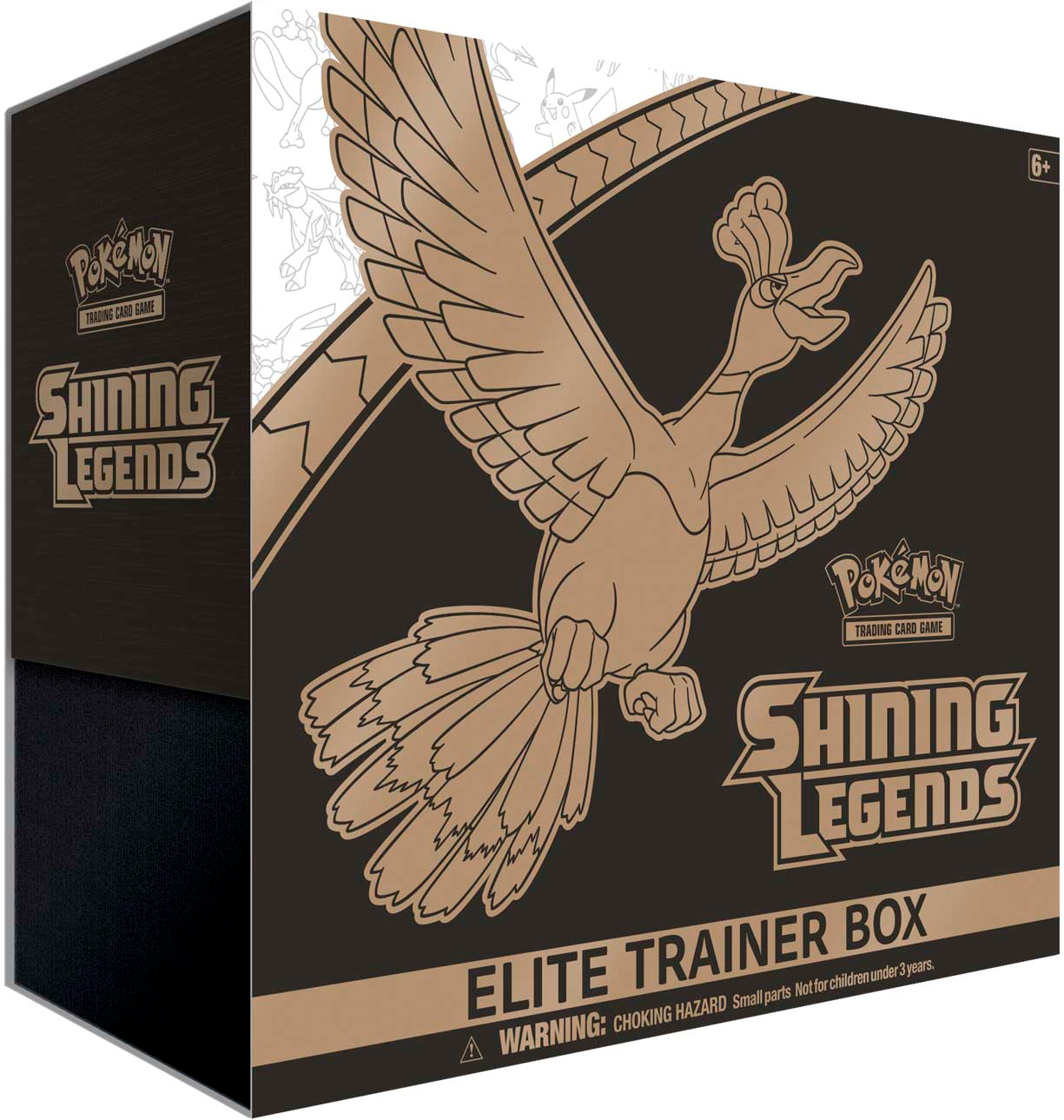 Pokemon Shining Legends Ho-Oh Elite Trainer Box