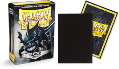 Dragon Shield Matte Standard-Size Sleeves - Black - 60ct