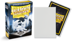 Dragon Shield Matte Standard-Size Sleeves - White - 60ct