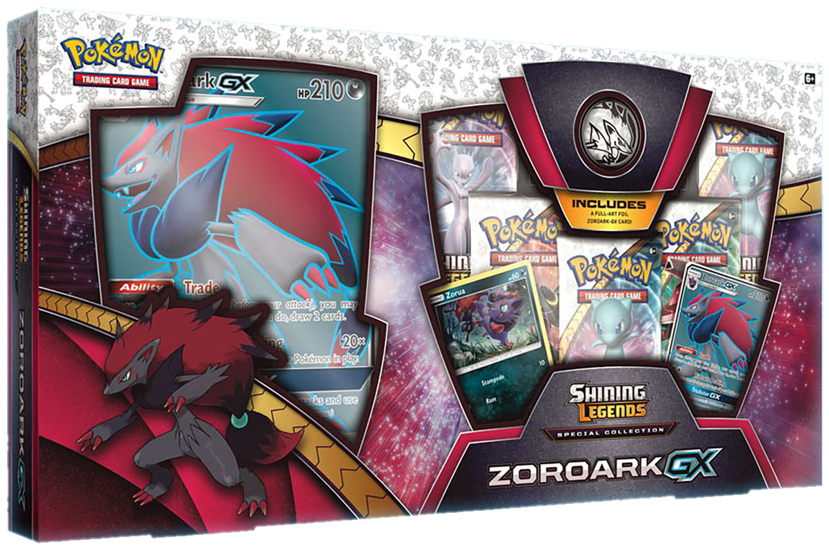 Pokemon Shining Legends Special Collection: Zoroark GX