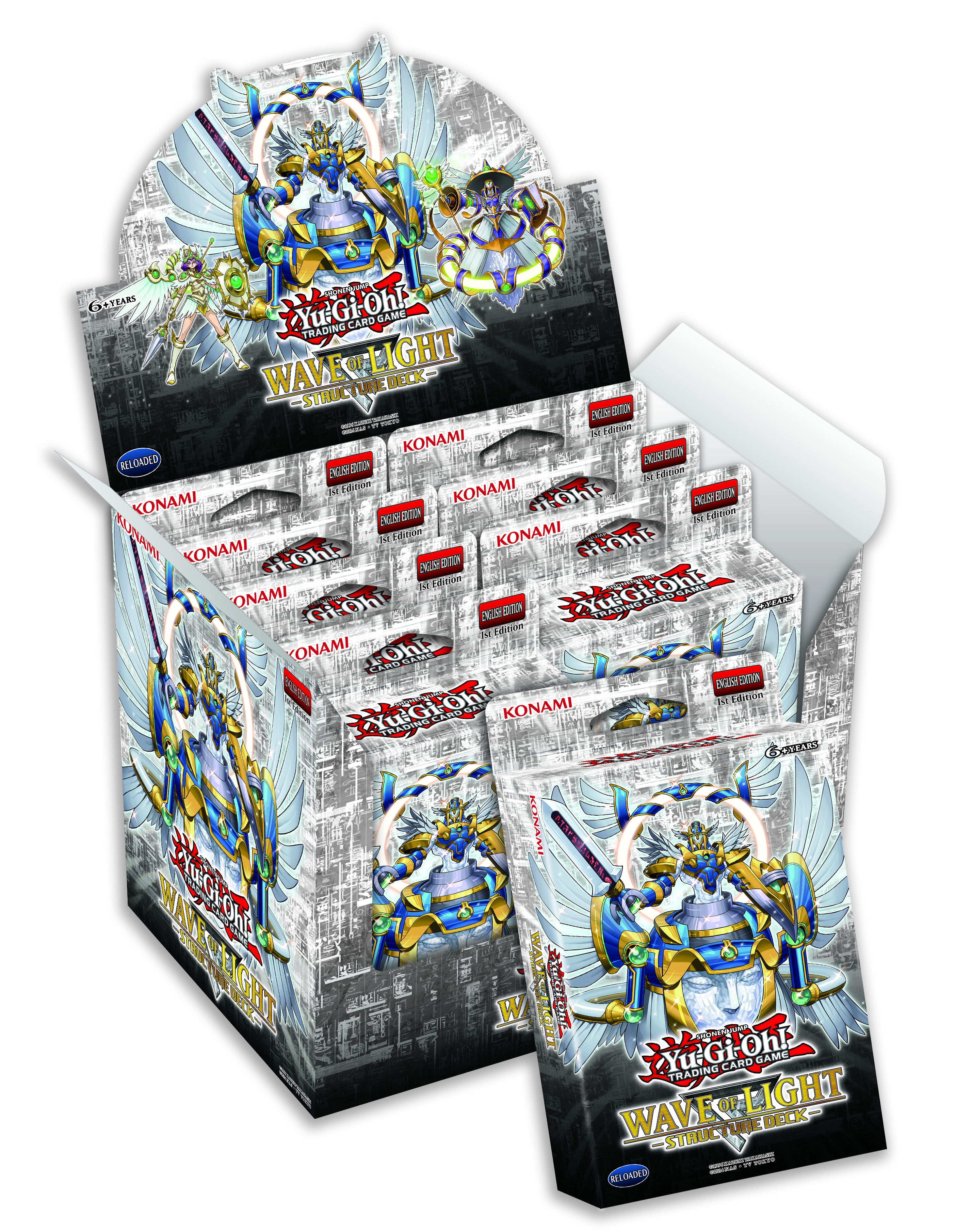 Yu gi oh structure deck wave of light display box 8ct yu gi oh yu gi oh structure deck wave of light display box 8ct mozeypictures Image collections