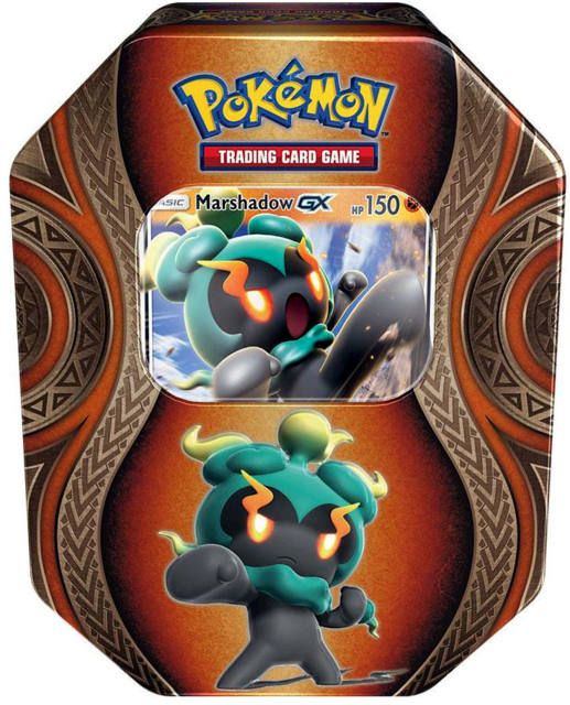 Pokemon Mysterious Powers Tin: Marshadow GX