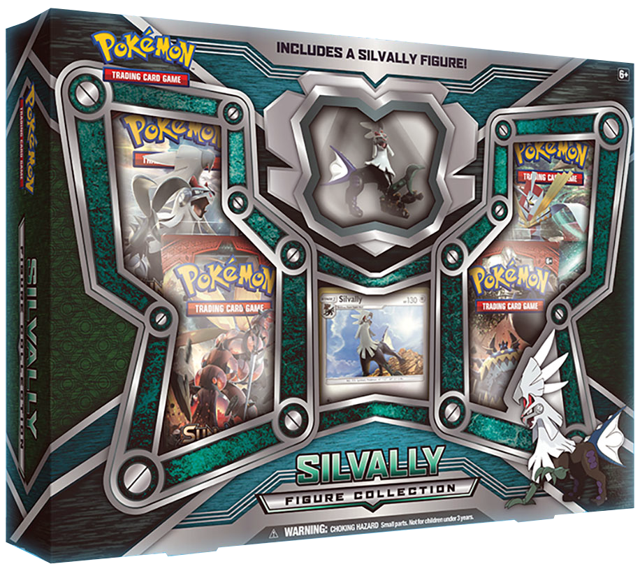 Pokemon Silvally Figure Collection Box