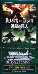 Weiss Schwarz Attack on Titan Vol. 2 Booster Box
