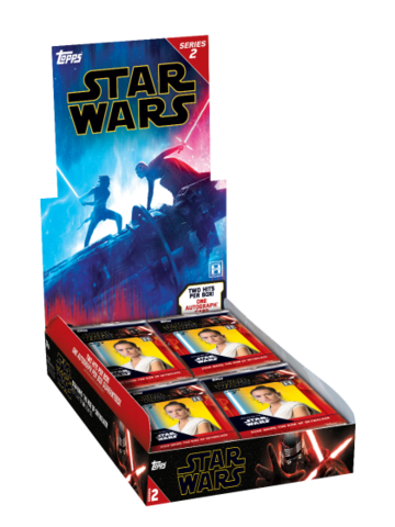 2020 Topps Star Wars The Rise Of Skywalker Series 2 Hobby Box Sports Cards Trading Cards Star Wars Trading Cards Collector S Cache