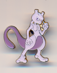 Mewtwo Pin - Shining Legends Mewtwo Pin Collection