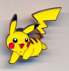 Pikachu Pin - Shining Legends Pikachu Pin Collection