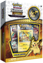 Pokemon Shining Legends: Pikachu Pin Collection