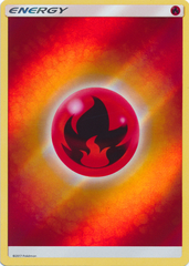 Shining Legends Fire Energy - Reverse Holo