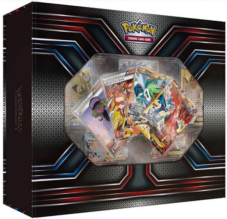POKEMON Mega Sharpedo EX Premium Collection Box Gift Set SEALED IN HAND!! kaartspellen Verzegelde boosters