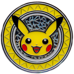 Premium Trainer's XY Collection Metal Pikachu Coin