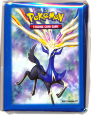 Premium Trainer's XY Collection Xerneas Standard Size Sleeves - 65ct
