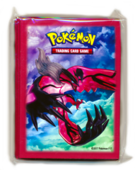 Premium Trainer's XY Collection Yveltal Standard Size Sleeves - 65ct