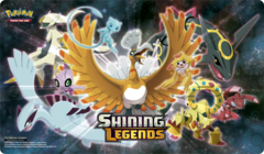 Shining Legends Super Premium Collection Playmat