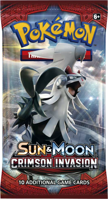 Pokemon Sun & Moon SM4 Crimson Invasion Booster Pack